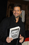 """11-04-10 Ricky Martin signs his book """"Me"""" at Bookends"""
