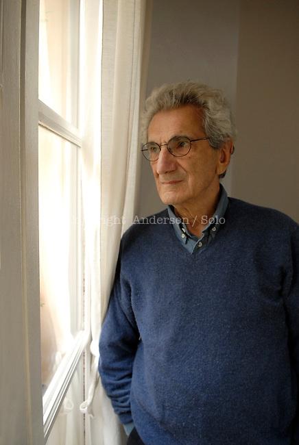 Toni Negri, Italian philosopher at home in Paris.