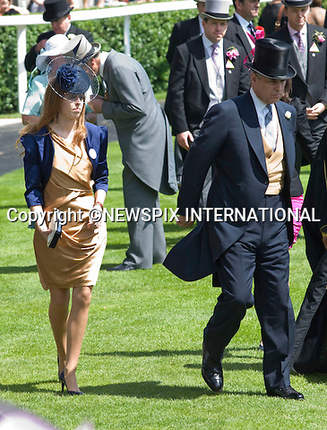 """PRINCESSES BEATRICE AND EUGENIE, PRINCE ANDREW AND PRINCE SALMAN BIN AL-KHALIFA.Ladies Day of Royal Ascot, Ascot, Berkshire 2010_17/06/2010.Mandatory Photo Credit: ©Dias/Newspix International..**ALL FEES PAYABLE TO: """"NEWSPIX INTERNATIONAL""""**..PHOTO CREDIT MANDATORY!!: NEWSPIX INTERNATIONAL(Failure to credit will incur a surcharge of 100% of reproduction fees)..IMMEDIATE CONFIRMATION OF USAGE REQUIRED:.Newspix International, 31 Chinnery Hill, Bishop's Stortford, ENGLAND CM23 3PS.Tel:+441279 324672  ; Fax: +441279656877.Mobile:  0777568 1153.e-mail: info@newspixinternational.co.uk"""