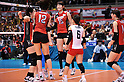 Japan Women's Volleyball Team Group (JPN), #15 Maiko Kano (JPN),.MAY 23, 2012 - Volleyball : FIVB the Women's World Olympic Qualification Tournament for the London Olympics 2012, between Japan 1-3 Korea at Tokyo Metropolitan Gymnasium, Tokyo, Japan. (Photo by Jun Tsukida/AFLO SPORT) [0003].