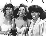 Pointer Sisters 1985 June Pointer, Anita Pointer and Ruth Pointer at American Music Awards..