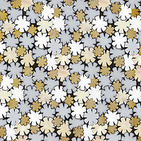 Flowers, a waterjet glass mosaic shown in Opal, Moonstone, Agate and Amber, is part of the Erin Adams Collection for New Ravenna Mosaics.
