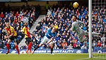 Kenny Miller scores for Rangers past Tomas Cerny in goal