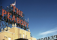 the peabody hotel, memphis, tennessee