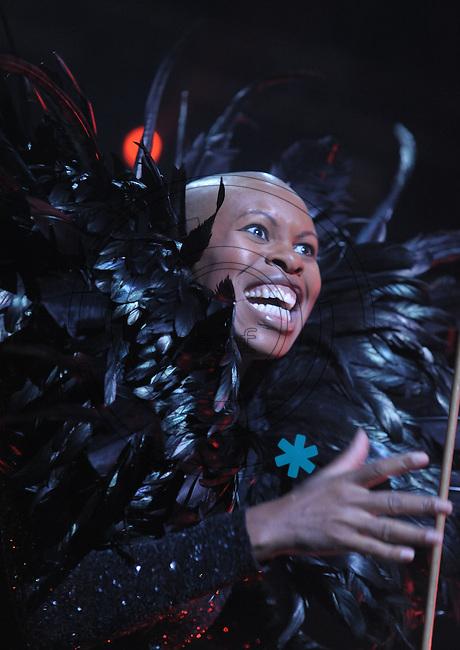 Highfield-Festival 2011 am Störmthaler See. im Bild: Sind zurück: Schrill, laut , geil.  Skunk Anansie mit  Deborah Anne Dyer alias Skin.  Foto: Alexander Bley