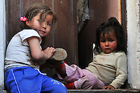 Children in Potosi, Bolivia