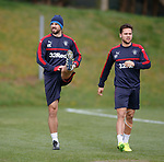 Niko Kranjcar and Harry Forrester