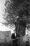 Tree dressing, Arbor Day, Aston-on-clun, Shropshire England 1975