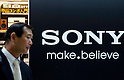 May 10, 2012, Tokyo, Japan - A business man walks past a Sony's logo inside BIC Camera in downtown Tokyo. Sony Corp. reports an annual net loss of 457 billion yen (approximately $5.7 billion US Dollars) in FY 2011. This is Sony's fourth year in a row of remaining in red, however, the company expects to return to net profit in FY 2012. (Photo by Yumeto Yamazaki/AFLO)
