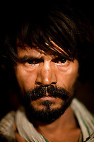 Muhamed Ali, aged 39, is a drug addict who has been in Delhi since he was 9 years old. He is trying to quit drugs and is waiting to see the doctor at the mobile clinic at Jama Masjid on 4th October 2010, in New Delhi, India. Picture: Suzanne Lee for The Australian.