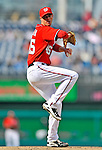 2 April 2011: Washington Nationals pitcher Doug Slaten in action against the Atlanta Braves at Nationals Park in Washington, District of Columbia. The Nationals defeated the Braves 6-3 in the second game of their season opening series. Mandatory Credit: Ed Wolfstein Photo