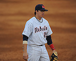 Ole Miss' Andrew Mistone (25) vs. North Carolina-Wilmington's  at Oxford-University Stadium in Oxford, Miss. on Saturday, February 25, 2012. Ole Miss won 6-4.