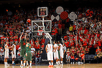 CHARLOTTESVILLE, VA- JANUARY 7:  The Virginia Cavaliers hosted the Miami Hurricanes on January 7, 2012 at the John Paul Jones Arena in Charlottesville, Virginia. Virginia defeated Miami 52-51. (Photo by Andrew Shurtleff/Getty Images) *** Local Caption ***
