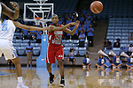 13 November 2015: Gardner-Webb's Candace Brown. The University of North Carolina Tar Heels hosted the Gardner-Webb University Runnin' Bulldogs at Carmichael Arena in Chapel Hill, North Carolina in a 2015-16 NCAA Division I Women's Basketball game. Gardner-Webb won the game 66-65.