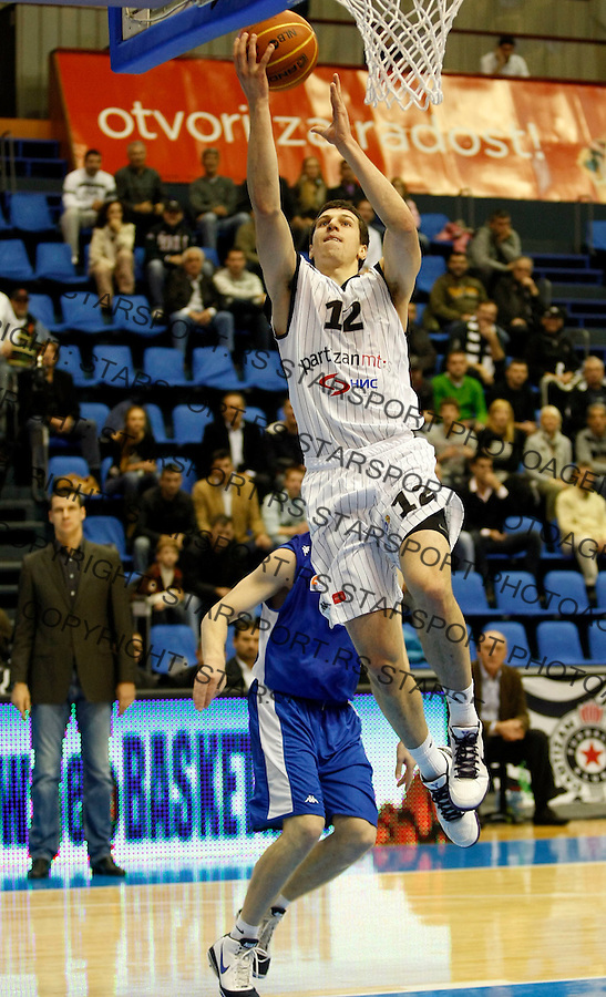Kosarka, NLB League, season 2010/2011.Partizan Vs. Buducnost (Podgorica).Dragan Milosavljevic.Belgrade, 09.10.2010..foto: Srdjan Stevanovic/Starsportphoto ©