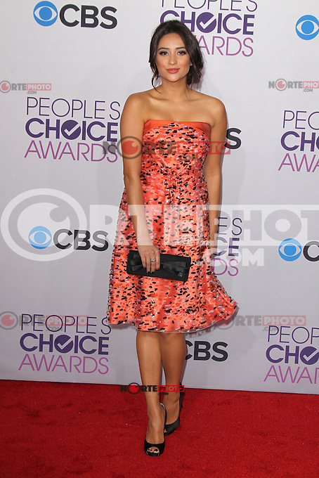LOS ANGELES, CA - JANUARY 09: Shay Mitchell at the 39th Annual People's Choice Awards at Nokia Theatre L.A. Live on January 9, 2013 in Los Angeles, California. Credit: mpi21/MediaPunch Inc. /NORTEPHOTO
