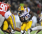 Ole Miss vs. LSU fullback James Stampley (35)  at Vaught-Hemingway Stadium in Oxford, Miss. on Saturday, November 19, 2011.