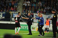 VOETBAL: HEERENVEEN: Abe Lenstra Stadion 29-08-2015, SC Heerenveen - PEC Zwolle, uitslag 1-1, trainer/coach Ron Jans, ©foto Martin de Jong