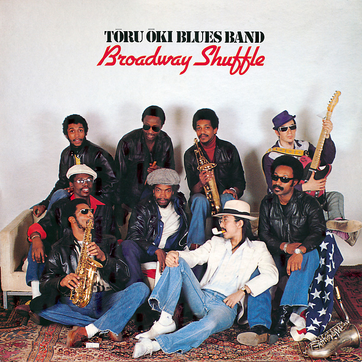 Toro Oki Blues Band, Broadway Shuffle, Album Cover