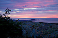 Sunrise from Cadillac Mountain Bar Harbor, Maine
