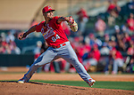 4 March 2016: St. Louis Cardinals pitcher Sam Tuivailala on the mound during a Spring Training pre-season game against the Houston Astros at Osceola County Stadium in Kissimmee, Florida. The Cardinals fell to the Astros 6-3 in Grapefruit League play. Mandatory Credit: Ed Wolfstein Photo *** RAW (NEF) Image File Available ***