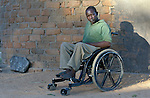 Henry Gwese is a farmer in Charumengwe, Zimbabwe. Gwese's legs were paralyzed by cerebral malaria, yet he and his wife continue farming. He uses an appropriately designed and fitted wheelchair provided by the Jairos Jiri Association with support from CBM-US.