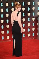 Bryce Dallas Howard at the 2017 EE British Academy Film Awards (BAFTA) held at The Royal Albert Hall, London, UK. <br /> 12 February  2017<br /> Picture: Steve Vas/Featureflash/SilverHub 0208 004 5359 sales@silverhubmedia.com