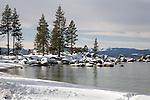Sand Harbor in Winter, Lake Tahoe