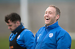 St Johnstone Training&hellip;30.12.16<br />Steven Anderson pictured during training this morning ahead of tomorrow&rsquo;s game against Dundee<br />Picture by Graeme Hart.<br />Copyright Perthshire Picture Agency<br />Tel: 01738 623350  Mobile: 07990 594431