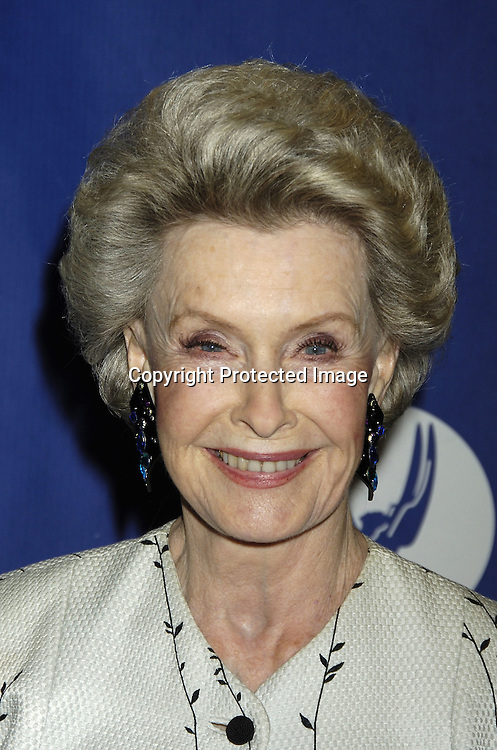 Dina Merrill ..at The National Television Academy Dinner Honoring Robert Iger on October 20, 2005 at The Marriott Marquis Hotel. ..Photo by Robin Platzer, Twin Images