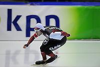SCHAATSEN: HEERENVEEN: 18-10-2013, IJsstadion Thialf, Trainingswedstrijd, Haralds Silovs (LAT), ©foto Martin de Jong