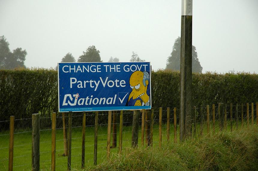 Party Vote, Whatawhata 2005