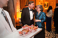 CIA director David Petraus and his wife attend the Bloomberg Vanity Fair White House Correspondents' Association dinner afterparty at the residence of the French Ambassador on Saturday, April 28, 2012 in Washington, DC. Brendan Hoffman for the New York Times