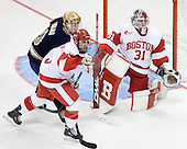 Ryan Thang (Notre Dame - 9), David Warsofsky (BU - 5), Kieran Millan (BU - 31) - The University of Notre Dame Fighting Irish defeated the Boston University Terriers 3-0 on Tuesday, October 20, 2009, at Agganis Arena in Boston, Massachusetts.