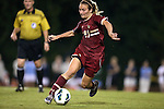 04 October 2012: Boston College's Kate McCarthy. The University of North Carolina Tar Heels defeated the Boston College Eagles 1-0 at Fetzer Field in Chapel Hill, North Carolina in a 2012 NCAA Division I Women's Soccer game.