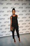 Jasmine Tookes Attends Jeffrey Fashion Cares 10th Anniversary New York Fundrasier Hosted by Emmy Rossum Held at the Intrepid, NY  4/2/13