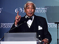 Washington, DC - September 17, 2016: U.S. Rep. Charles Rangel addresses the audience after receiving the Phoenix Award from the Congressional Black Caucus Foundation at the Washington Convention Center in the District of Columbia, September 17, 2016.  (Photo by Don Baxter/Media Images International)