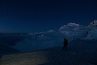 Man staring at the Strahlhorn