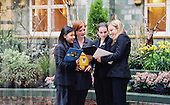 University students on a work placement in a London hotel.