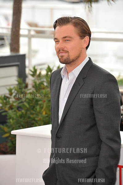 """Leonardo DiCaprio at the photocall for his movie """"The Great Gatsby"""" at the 66th Festival de Cannes..May 15, 2013  Cannes, France.Picture: Paul Smith / Featureflash"""