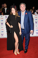 LONDON, UK. October 31, 2016: Katya Jones &amp; Ed Balls at the Pride of Britain Awards 2016 at the Grosvenor House Hotel, London.<br /> Picture: Steve Vas/Featureflash/SilverHub 0208 004 5359/ 07711 972644 Editors@silverhubmedia.com