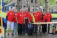 WANDELSPORT: LEEUWARDEN-SLEAT: 12-05-2015, Elfsteden Wandeltocht, Vrijwilligers, ©foto Martin de Jong