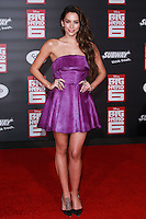 HOLLYWOOD, LOS ANGELES, CA, USA - NOVEMBER 04: Genesis Rodriguez arrives at the Los Angeles Premiere Of Disney's 'Big Hero 6' held at the El Capitan Theatre on November 4, 2014 in Hollywood, Los Angeles, California, United States. (Photo by David Acosta/Celebrity Monitor)