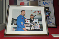 A picture of Japanese astronaut Soichi Noguchi with Nissin founder and instant ramen inventor Momofuku Ando. Nissin developed a special instant ramen for Noguchi to consume in space on the shuttle Discovery.The Instant Ramen Museum in Ikeda, near the Japanese city of Osaka, has welcomed some 2 million visitors over the years. .