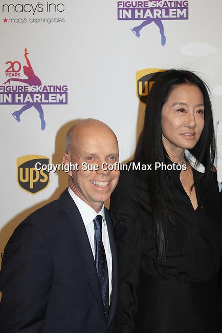 Scott Hamilton, Vera Wang - Figure Skating in Harlem celebrates 20 years - Champions in Life benefit Gala on May 2, 2017 in New York Ciry, New York.   (Photo by Sue Coflin/Max Photos)