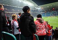 DFB Pokal 2011/12 2. Hauptrunde RasenBallsport Leipzig - FC Augsburg Ein jugendlicher Fan.