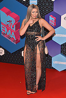 Chloe (Geordie Shore)<br /> 2016 MTV EMAs in Ahoy Arena, Rotterdam, The Netherlands on November 06, 2016.<br /> CAP/PL<br /> &copy;Phil Loftus/Capital Pictures /MediaPunch ***NORTH AND SOUTH AMERICAS ONLY***