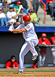 4 March 2012: Washington Nationals third baseman Ryan Zimmerman in action against the Houston Astros at Space Coast Stadium in Viera, Florida. The Astros defeated the Nationals 10-2 in Grapefruit League action. Mandatory Credit: Ed Wolfstein Photo