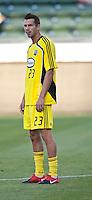 Columbus Crew defender Eric Brunner (23)