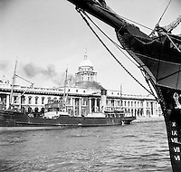 Views of Custom House, Dublin.04/07/1953
